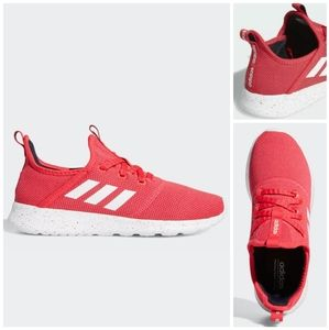 NEW adidas Cloudfoam Pure Shoes hot pink 7.5